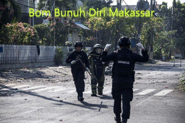 Serangan Bom Bunuh Diri Makassar di Gereja Katolik Indonesia